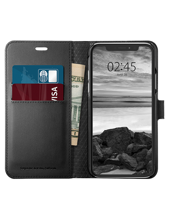 Pouzdro Spigen Wallet S iPhone XS/X