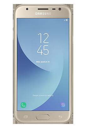 Samsung Galaxy J3 2017 zlatý Single SIM