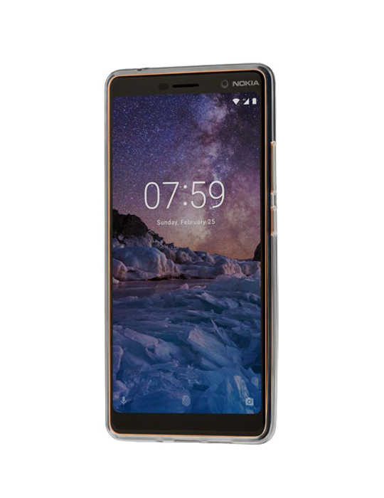 Kryt Premium Clear Case Nokia 7 Plus