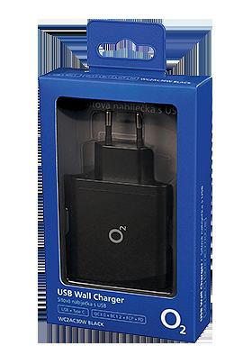 Nabíječka síťová USB-A + USB-C, PD 30W