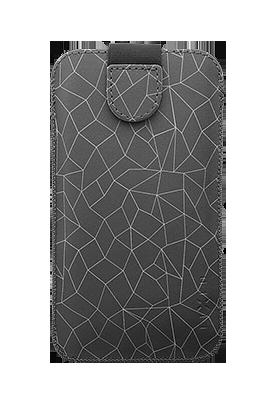 Pouzdro Fixed Soft Slim 6XL Grey Mash
