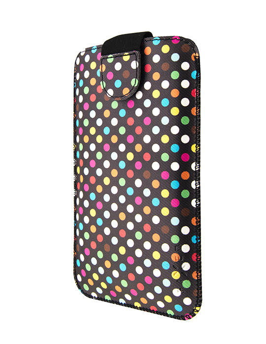 Pouzdro Fixed Soft Slim 4XL Rainbow Dots