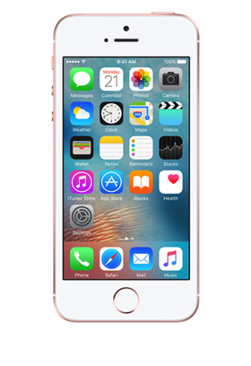 Apple iPhone SE 16GB růžovozlatý