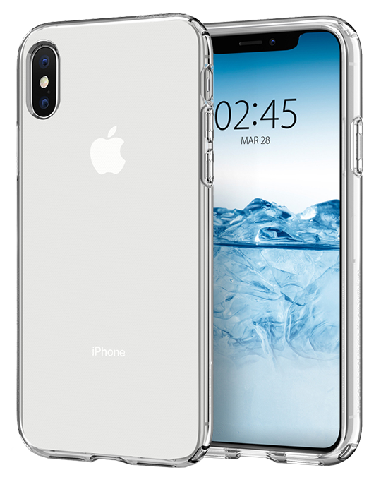 Kryt Spigen Liquid Crystal iPhone XS/X