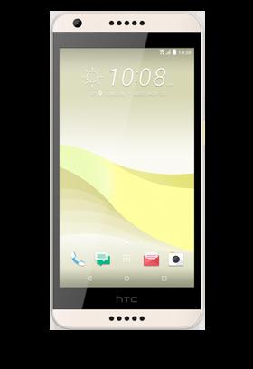 HTC Desire 650 - bílá