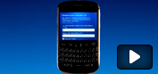 Registrace BlackBerry do AppWorld