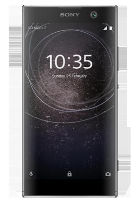 Sony Xperia XA2 černá Single SIM