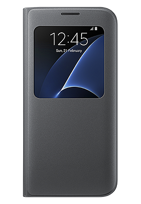 Pouzdro S-View pro Samsung Galaxy S7 Edge