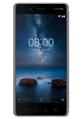 Nokia 8 stříbrná