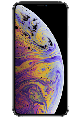 Apple iPhone XS Max 64GB Single SIM, stříbrná