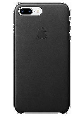 Kryt Apple iPhone 7 Plus /8 Plus kožený černý
