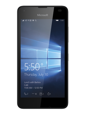 Microsoft Lumia 550 černá