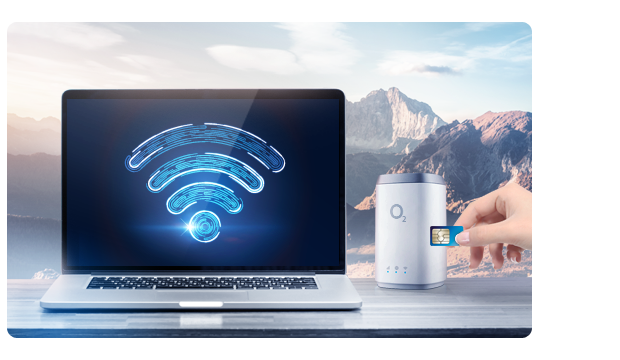 Create a Wi-Fi network with a portable router